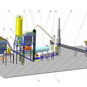 Завод асфальтобетонный стационарный модульного типа серии МВ АЗ-60 фото