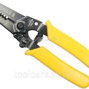 Клещи для снятия изоляции 150 мм Стайл черно-желтая ручка ф60010 фото