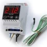 Терморегулятор ТК-4к 20А, t -0*+999* одноканальный, датчик ТХА корпус на DIN-рейку фото