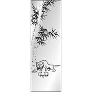 Обработка пескоструйная на 1 стекло артикул 9-13 фото