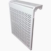 Экран металлический для батарей 5-х сек 490*610*150 навесной фото