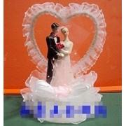 Жених и невеста украшение свадебного торта, Декораторы кондитерских изделий фото