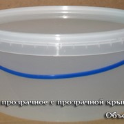 Пластиковые ведра для пищевых продуктов фото