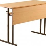 Стол ученический двухместный СУ-Б 5-6 гр. фото