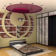 Дизайнерский ремонт спальни, комнат, квартир, домов фото