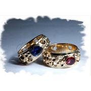 Кольца с бриллиантами и с драгоценными и полудрагоценными камнями -только на заказ фото