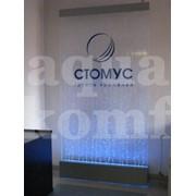 Пузырьковая панель с логотипом организации фото