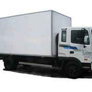 Моторчик печки 5120-0650 на грузовик Hyundai hd120 фото