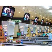 Видеореклама в супермаркетах фото