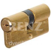 Секретный ключевой цилиндр 60 мм. ключ с перфорацией, Ключ-Ключ АРТИКУЛ: CС 60 фото