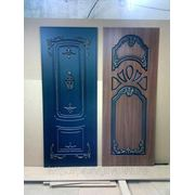 Панели для отделки металлических дверей с объемными элементами фото