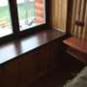 Подоконник дубовый, деревянный подоконник, цена фото