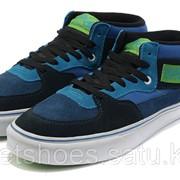 Кеды Vans Half Cab Blue/Green 38-43 , кроссовки, сникеры, шузы Код Van015 фото