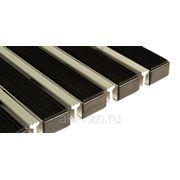 Алюминиево - резиновый придверный половик 60/40 фото