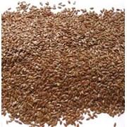 Лён коричневый кондитерский фото