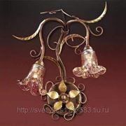 Светильник Odeon Light 1814/2W коричневый Aura фото