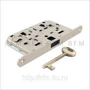 Замок ПОЛЯРИС AGB (магнитный) c 1 ключом для межкомнатной двери, АРТ. В04101.50.06 фото
