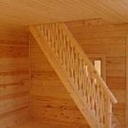 Тетива лестницы 60мм х 300мм 2м ель сорт АА без сучка