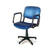Парикмахерское кресло Крокус пластиковое пятилучье фото
