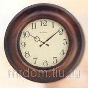 Орех антик.часы настенные d.38 (622461) фото