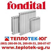 Радиаторы отопления алюминиевые Fondital/ Фондитал (Италия) фото