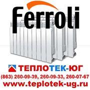 Радиаторы отопления алюминиевые Ferroli/ Ферроли (Италия) фото