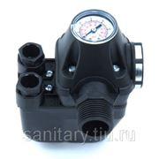 """Реле давления ITALTECNICA PM/5-3W со встроенным манометром 1"""" фото"""