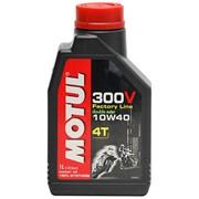 Мотоциклетное моторное масло 300V Motul 300V 4T FACTORY LINE фото