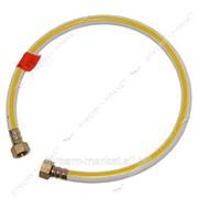 Шланг газовый ПВХ армированный белый N0622 L=400 1/2 В/В (латунные гайки) №094616 фото