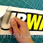 Монтаж плоттерной пленки на рельефную поверхность 5-10 м2 фотография