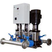 Автоматическая насосная установка с преобразователем частоты серии Шторм-И.3CR 32-3 фото