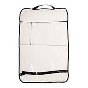 Защитная накидка на спинку сиденья автомобиля с карманом для планшета, 60х40 см фото