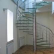 Лестницы с ограждением фото