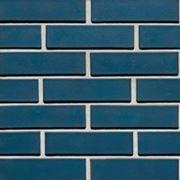 Фасадный кирпич синий(стр 1) фото