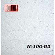 Жидкие обои из хлопка 100 G-3 Белый с блеском серебра фото