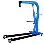 Кран гаражный складной гидравлический 1 т TROMMELBERG C103211