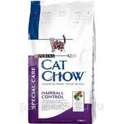 Корм Cat Chow Д/Кошек Проф Комочк Шерсти 1.5кг. фото