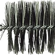 Щетка металлическая для чистки котла люкс 80мм фото