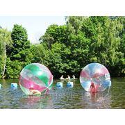 Аренда гидрозорба - водный шар фото