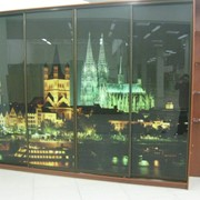 Замер и установка стеклянных фартуков скинали фото