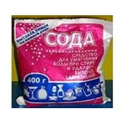 Сода кальцинированная 400г (пакет) фото