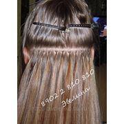 Наращивание волос Мурманск, микро и ленточное наращивание , обучение наращиванию волос фото