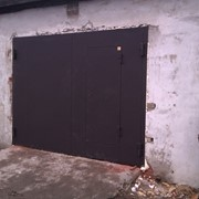 Гаражные ворота. фото