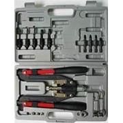 Заклепочник для всех типов заклепок 3,2-6,4мм в кейсе SKRAB 26211 фото
