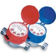 Одноструйные счётчики воды JS, JS-02, Температура работы: 30°C/90°C давлeниe: PN 16 Позиция работы: HV фото