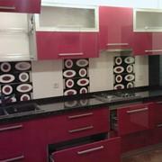 Мебель кухонная. Линейная кухонная мебель на заказ. фото