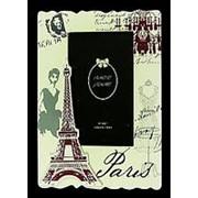 "Фоторамка ""Париж"" для фото 10*15см, 17*22см. 138502 фото"