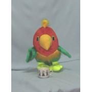 Мягкая игрушка Попугай Гоша фото
