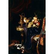 Продам голландский натюрморт! 60х80см красивый, на подарок или себе. фото