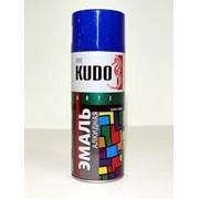 Краска эмаль Алкидная (KUDO) 520 мл синяя фото